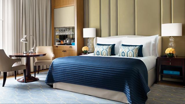 コリンシア ホテル ロンドンの上品な客室デザイン