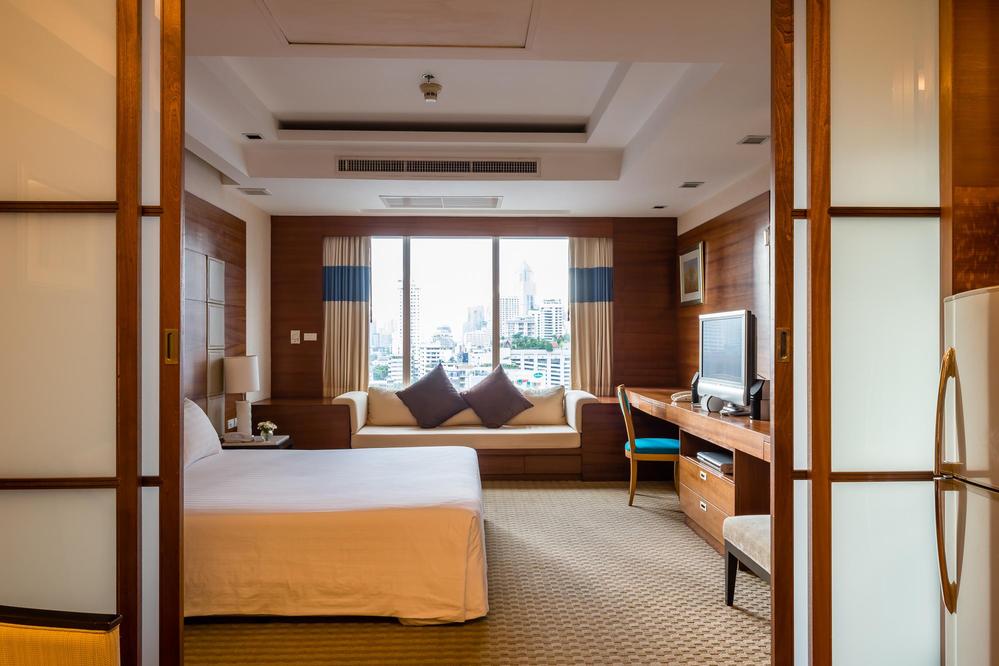 ジャスミン シティ ホテルのゆったりと寛げる客室
