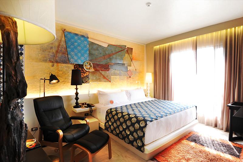 タイの老舗 サイアム アット サイアム デザイン ホテル こだわりの客室デザイン