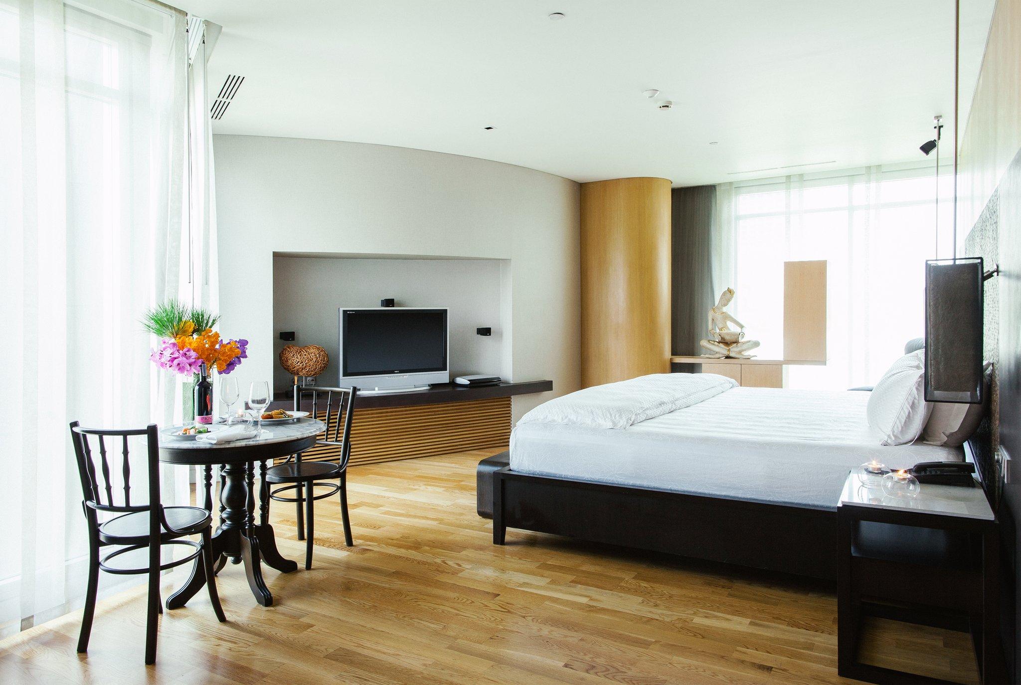 バンコク マドゥジ ホテルの快適な客室