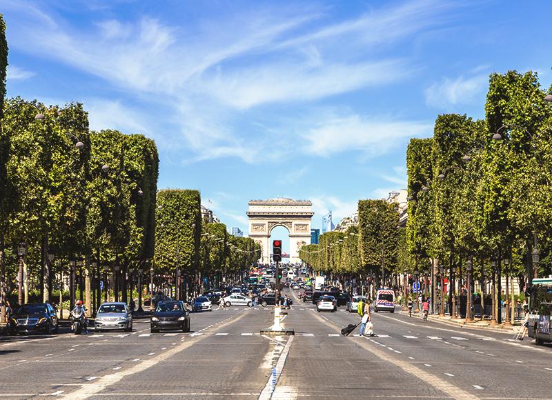 フランス パリの凱旋門
