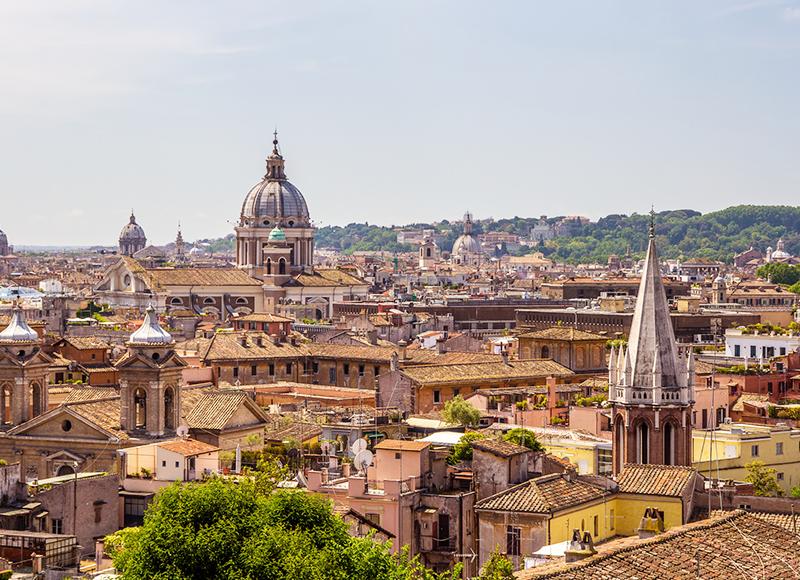 イタリア ローマの美しい景観