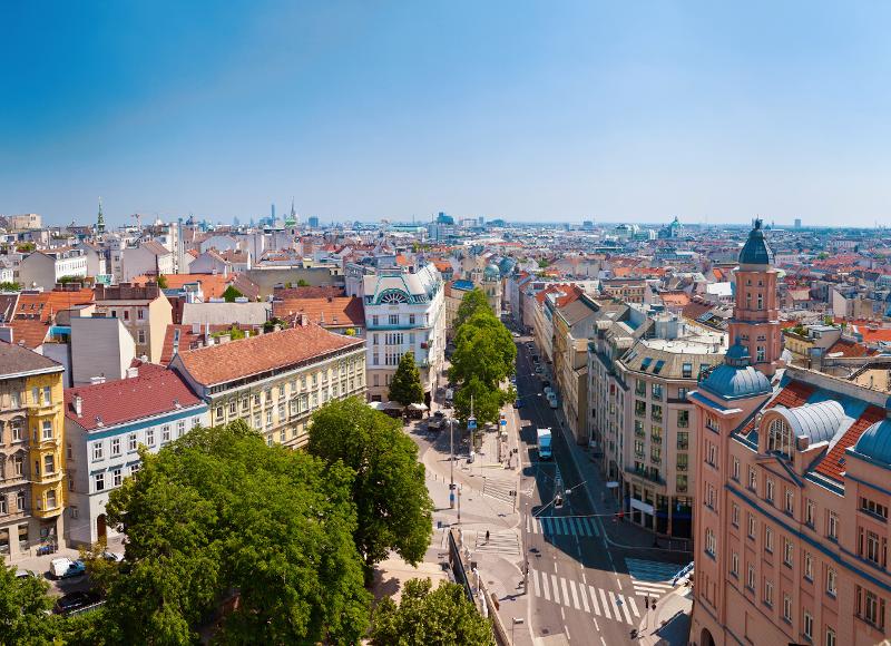オーストリア ウィーンの美しい街並み