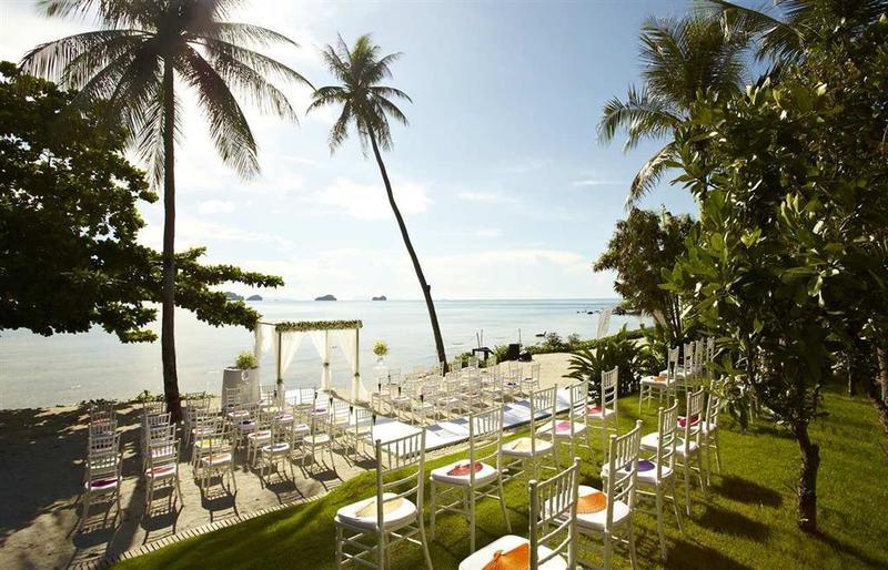 海を望むコンラッド コ サムイの結婚式場