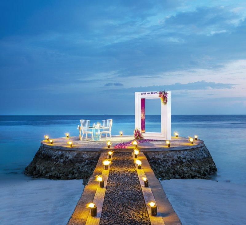 Wモルディブの結婚式場