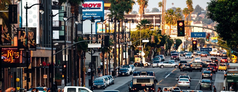 ハリウッドのレンタカー