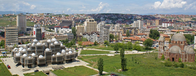 コソボのレンタカー