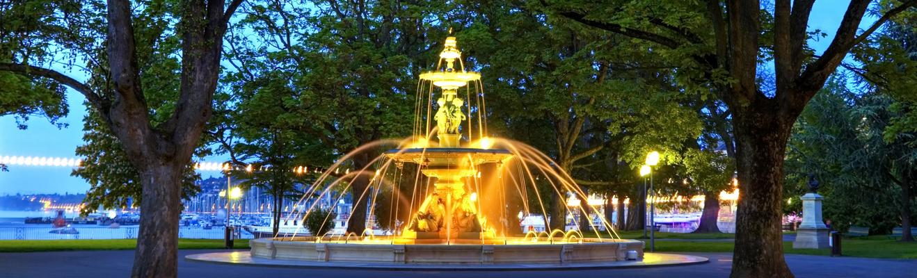 ジュネーブ - 都会, 歴史的地区