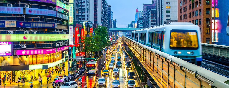 台北市 台湾桃園国際&その他の空港のレンタカー