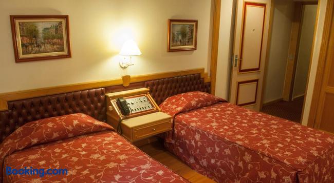 King Hotel - サンパウロ - 寝室