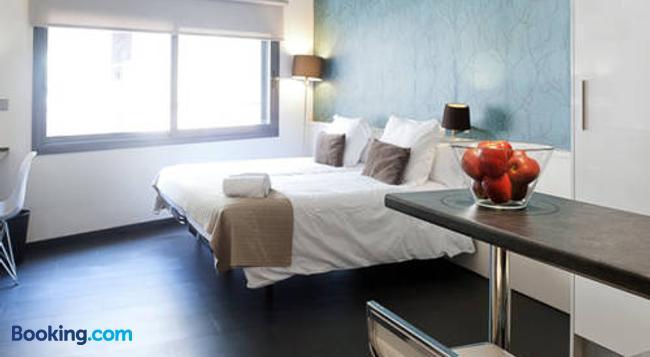 バルセロナ フィフティーン ラグジュアリー ホステル - バルセロナ - 寝室
