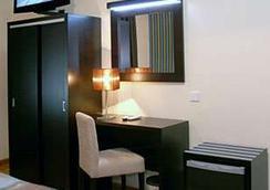 ホテル アメリカ - ポルト - 寝室