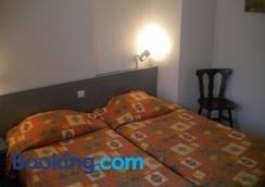 ホテル デュ ラドホフ - コルマール - 寝室