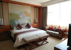成都空港ホテル - 成都 - 寝室