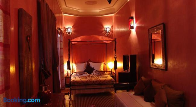 Riad Les Nuits de Marrakech - マラケシュ - 寝室