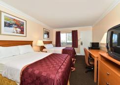 Americas Best Value Inn - Oakland / Lake Merritt - オークランド - 寝室