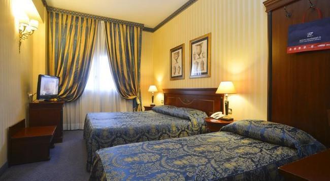 ザンホテル ヨーロッパ - ボローニャ - 寝室