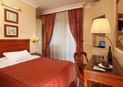 ホテル クリストフォロ コロンボ - ローマ - 寝室