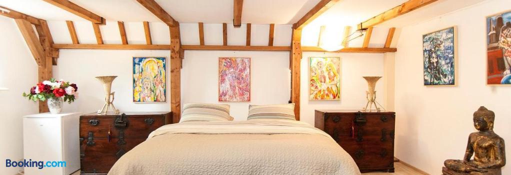 Bed & Breakfast of Art - アムステルダム - 寝室