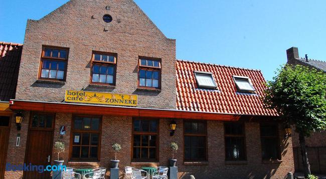 Hotel Cafe 't Zonneke - オーステルハウト - 建物
