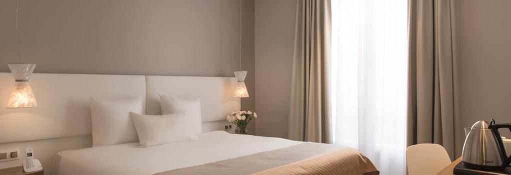 ホテル マゼンタ 38 バイ ハッピーカルチャー - パリ - 寝室