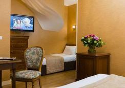ホテル デュ パレ ブルボン - パリ - 寝室