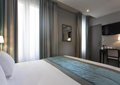 ベストウエスタン モンカルム - パリ - 寝室