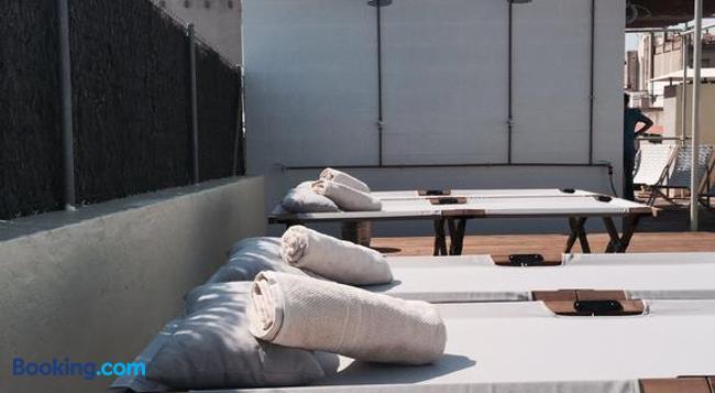 オスタル アルゴ - バルセロナ - 寝室