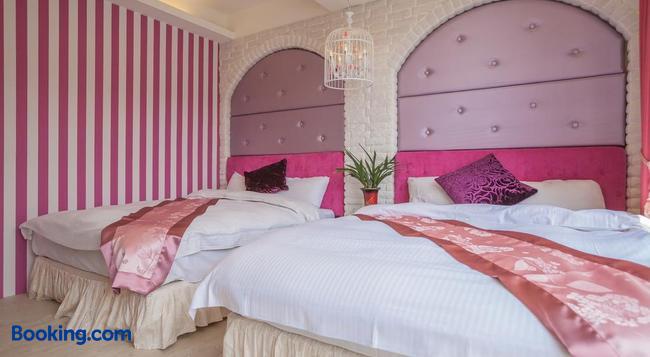 Shuian Lakeside Hotel - Nantou City - 寝室