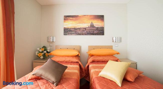 ディ フロンテ アラ キューポラ - ローマ - 寝室