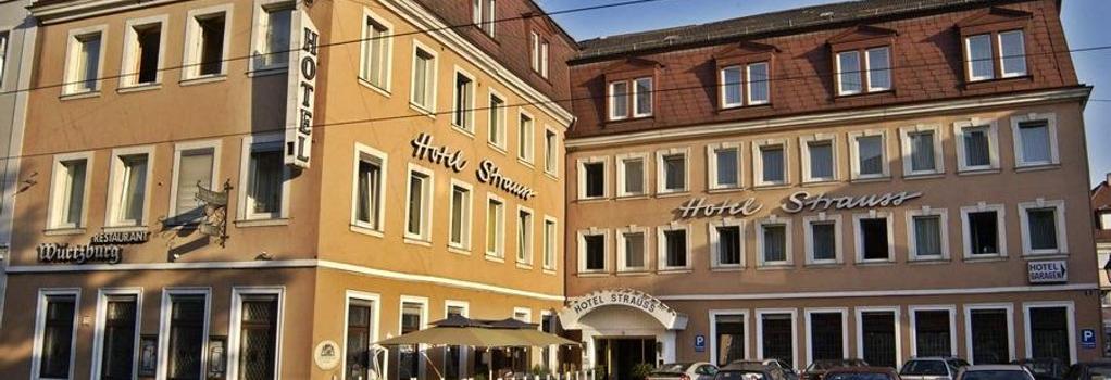 シティ パートナー ホテル シュトラウス - ヴュルツブルク - 建物