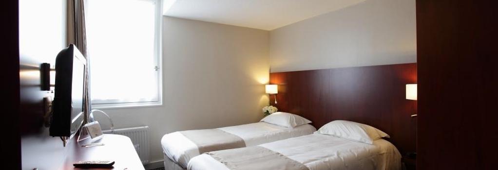 キリヤード サン マロ ディナール - ディナール - 寝室