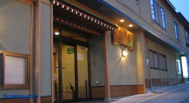 石庭露天風呂の宿 俵や - 山ノ内町 - 建物