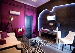 Mirax Boutique Hotel - ハルキウ - 寝室