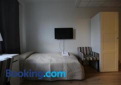 100 アイスランド ホテル - レイキャヴィク - 寝室