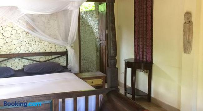 Jukung Bali Bungalow - アメッド - 寝室