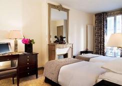 ホテル ヴァノー サン ジェルマン - パリ - 寝室