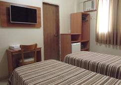 Hotel Guarumar - Guaruja - 寝室