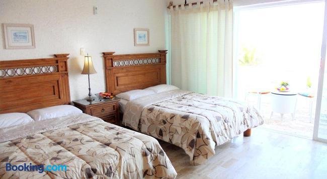 カンクン ビーチ アパートホテル バイ ラス ブリサス - カンクン - 寝室