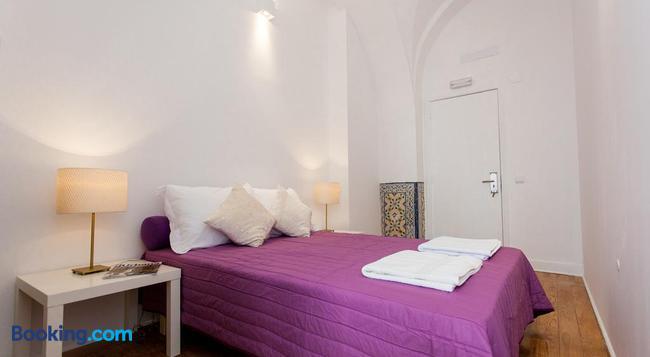 ロスト イン リスボン ホステル - リスボン - 寝室