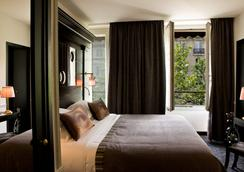ホテル オブセルヴァトワール ルクセンブルク - パリ - 寝室