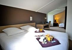 コンフォート ホテル ロレアク - バヨンヌ - 寝室