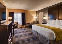 Best Western Hartford Hotel & Suites - ハートフォード - 寝室