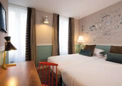 オテル デ 3 プッサン - パリ - 寝室