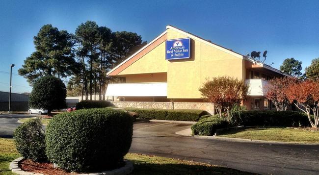 Americas Best Value Inn & Suites - Little Rock - 建物