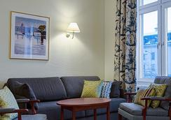 ホテル テルミナス ストックホルム - ストックホルム - 寝室