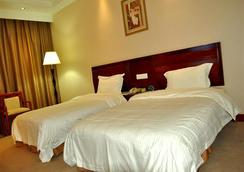 Greentree Inn Zhejiang Zhoushan Xincheng Business Hotel - Zhoushan - 寝室