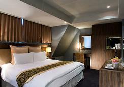 H.M. ホテル - 新竹市 - 寝室
