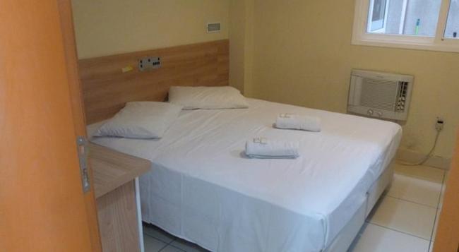 Hotel Minuano Home - ポルト アレグレ - 寝室