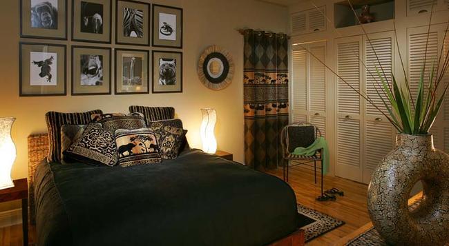 Le Terra Nostra B&B - モントリオール - 寝室